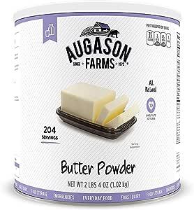 Augason Farms Butter Powder 36 oz #10 Can