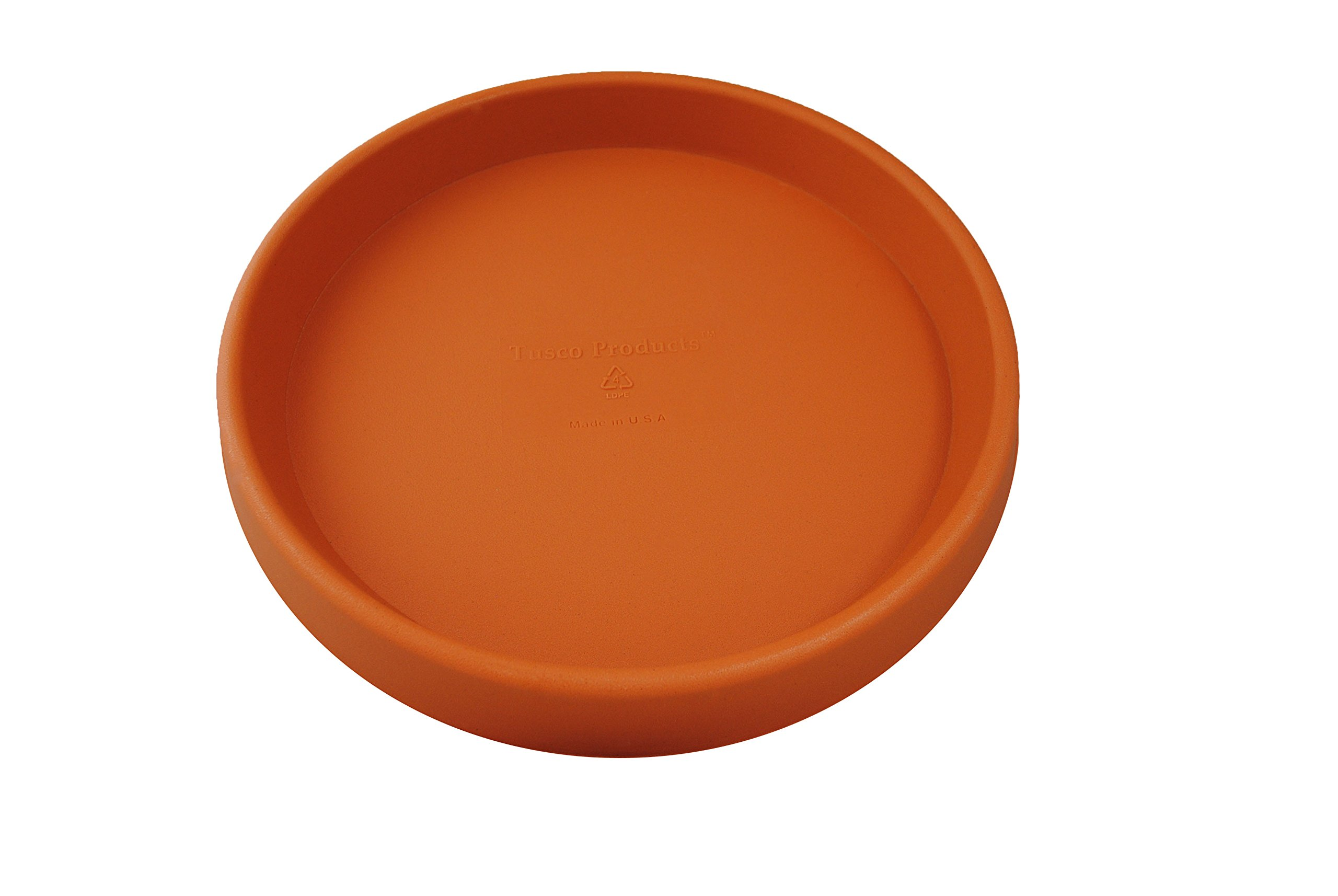 Tusco Products TR30TC Round Saucer, 30-Inch Diameter, Terra Cotta