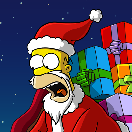The Simpsons: Tapped Out (Christmas Sims Challenge)