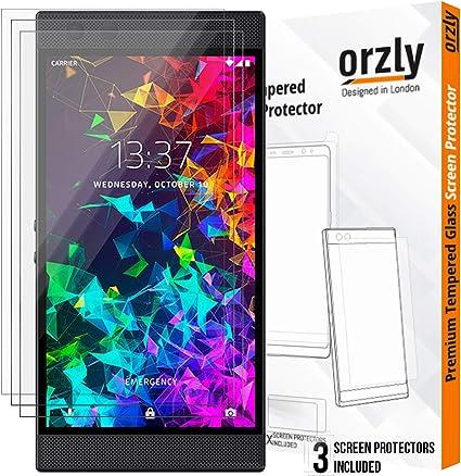 ORZLY® Protector de Pantalla para Razer Phone 2, Pack de Tres ...
