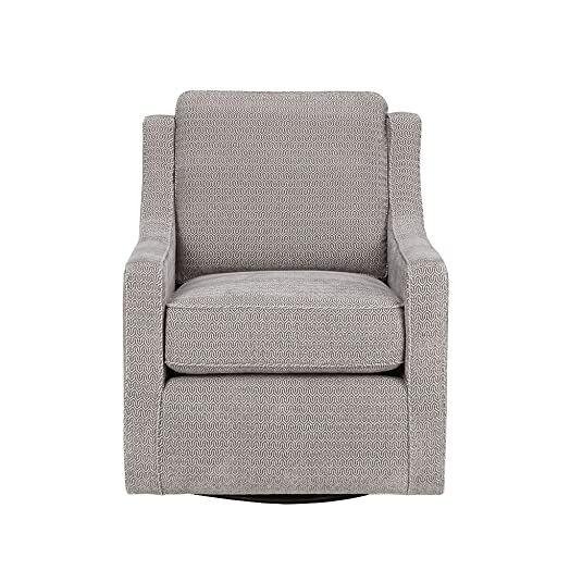 Madison Park Harris Swivel Chair Grey See Below