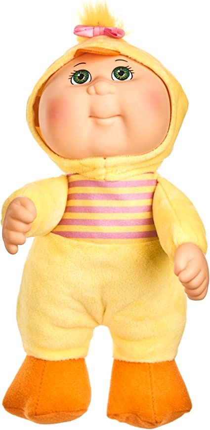 Garden Party Cabbage Patch Kids Cuties Amelia Chick 9 Inch Soft Body Baby Doll