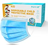 Face Mask for Kids, FGCCJP Kids Disposable Mask 3-layer with Elastic Ear Loops, Suitable for Boys Girls Kids Children
