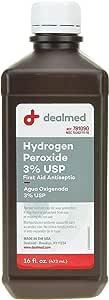 Dealmed Hydrogen Peroxide 3% USP, First Aid Antiseptic, 16 fl. oz.