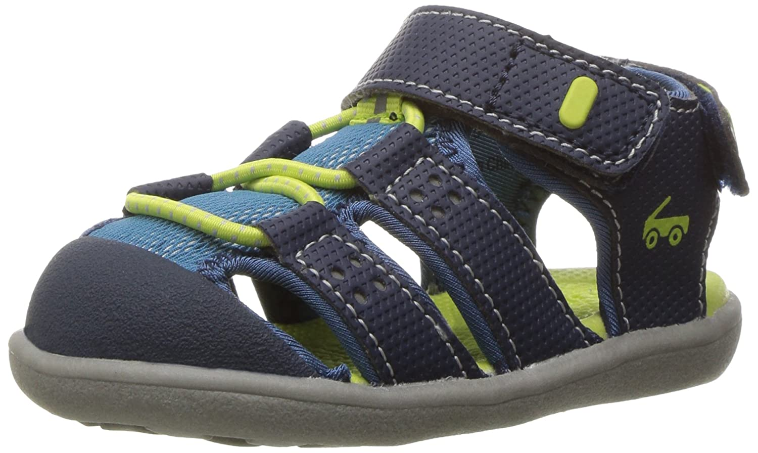 See Kai Run Kids' Lincoln II Navy Water Shoe Lincoln II Navy - K