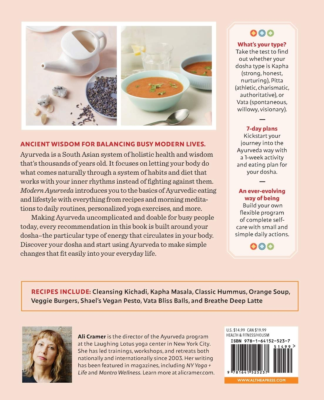 Modern Ayurveda: Rituals, Recipes, and Remedies for Balance ...