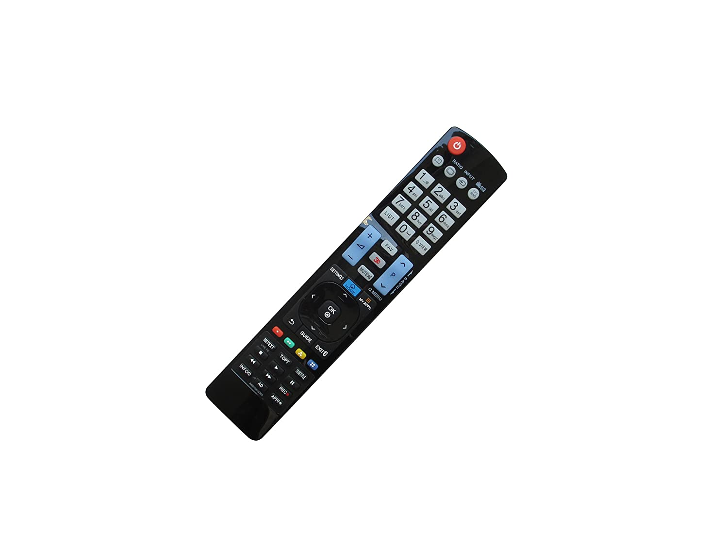 Amazon com: Easytry123 Repla Remote Control For LG 32LH570D 75UH656T