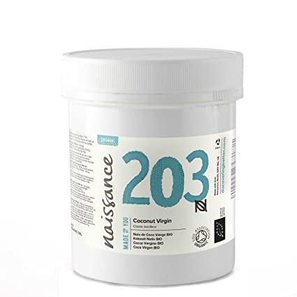 Naissance Coco Virgen BIO Sólido - Aceite Vegetal Prensado en Frío 100% Puro - Certificado