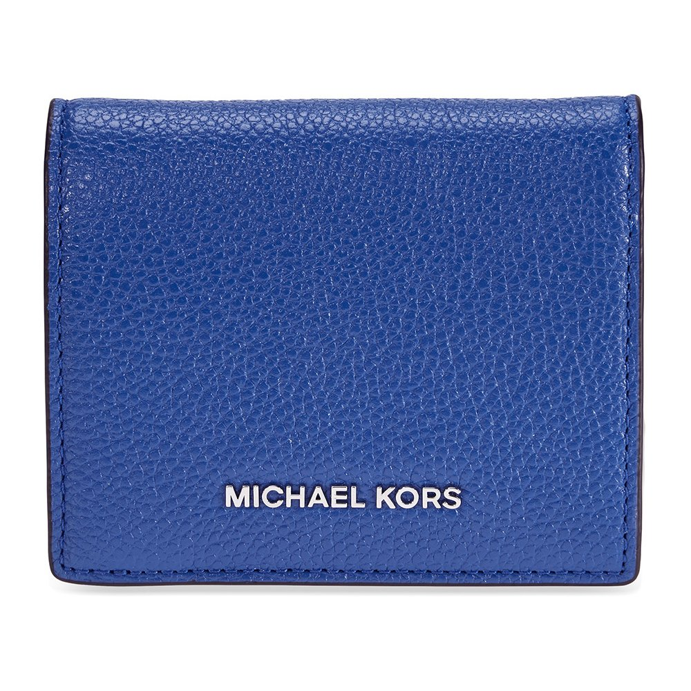 Michael Kors Mercer Flap Card Holder - Electric Blue by Michael Kors