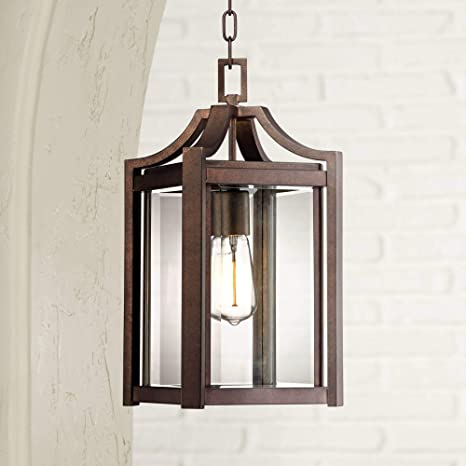 Rockford Collection 17 High Bronze Outdoor Hanging Light Pendant