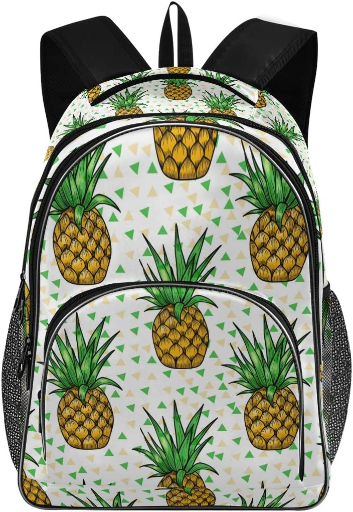 Laptop Backpack for Laptop Up to 15.6 Inch Men Women Student Travel Outdoor School College Bags Bookbag Pineapple Backpack
