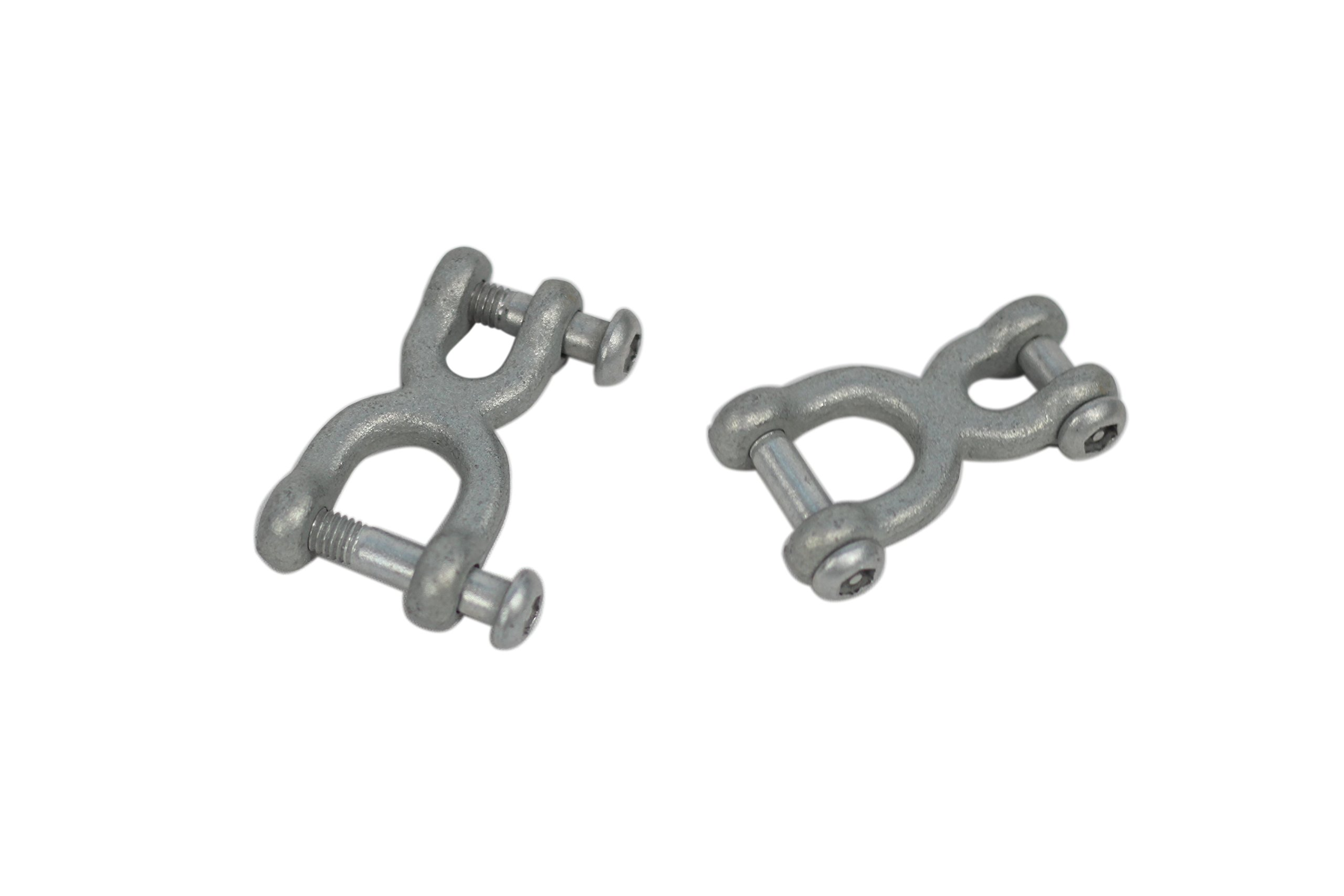 American Swing H-shackle With Special Head - Set of 2