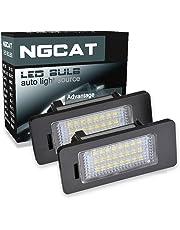 ngcat LED 3528 24 SMD Bombilla licencia número placa lámparas de luz para Canbus (Pack