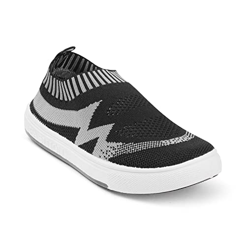 2fce30cc40 KITTENS Black Boys Sports Shoes: Buy Online at Low Prices in India -  Amazon.in