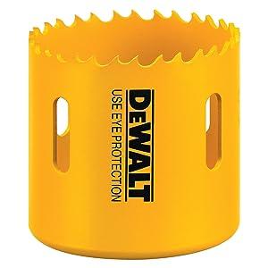 DEWALT D180048 3-Inch Standard Bi-Metal Hole Saw