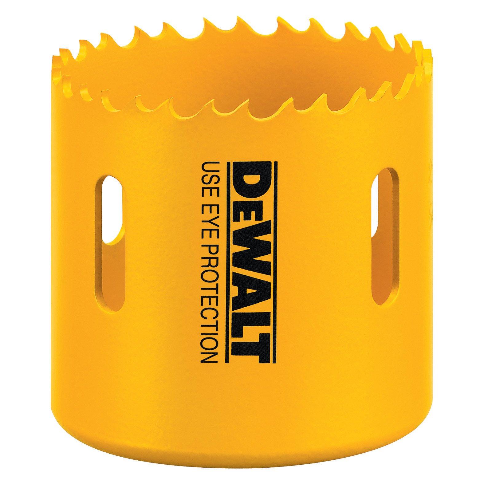 DEWALT D180052 3-1/4-Inch Standard Bi-Metal Hole Saw