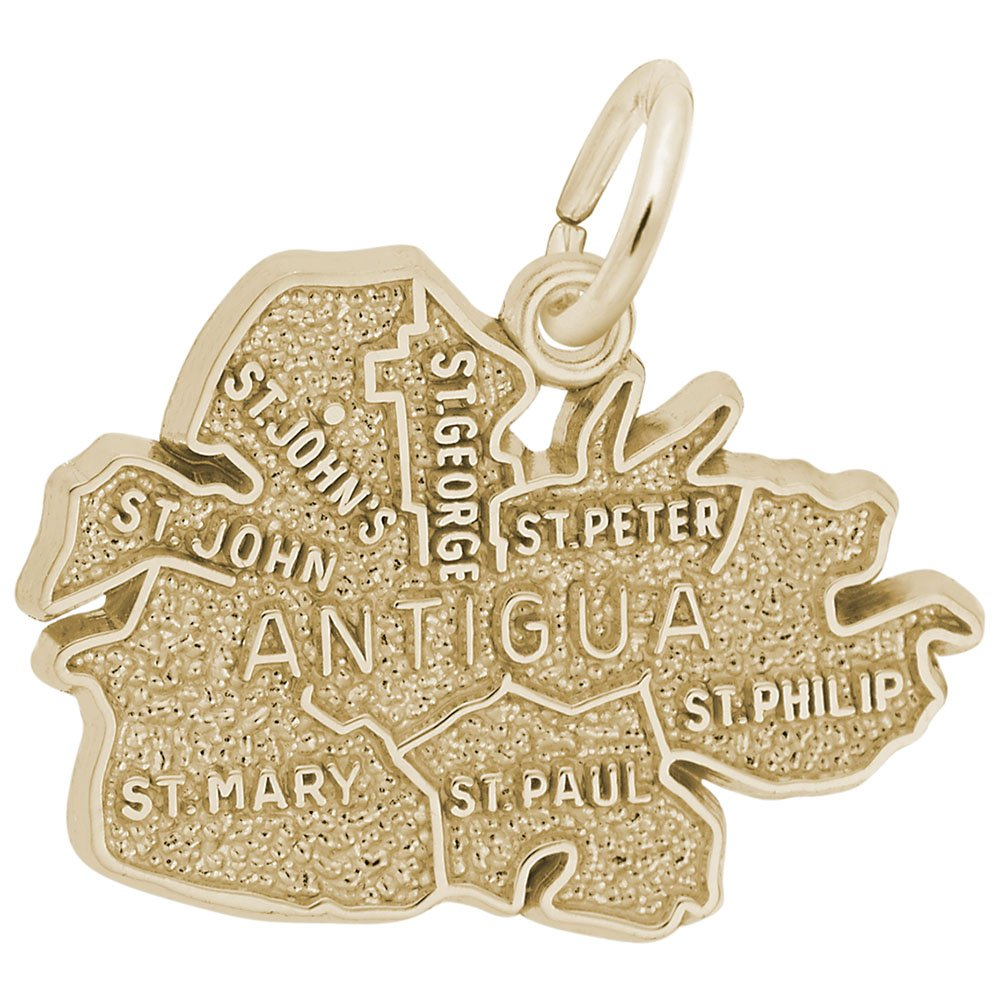 Antigua Charm Charms for Bracelets and Necklaces