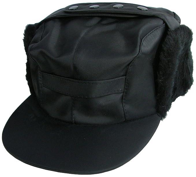 0525ecd6e Mens Showerproof Peaked Hat With Ear Flaps