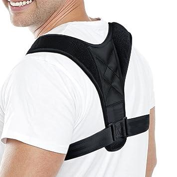 Correcteur de Posture réglable - Ceinture de soutien pour le dos et la  douleur à l c8232b9c7bf