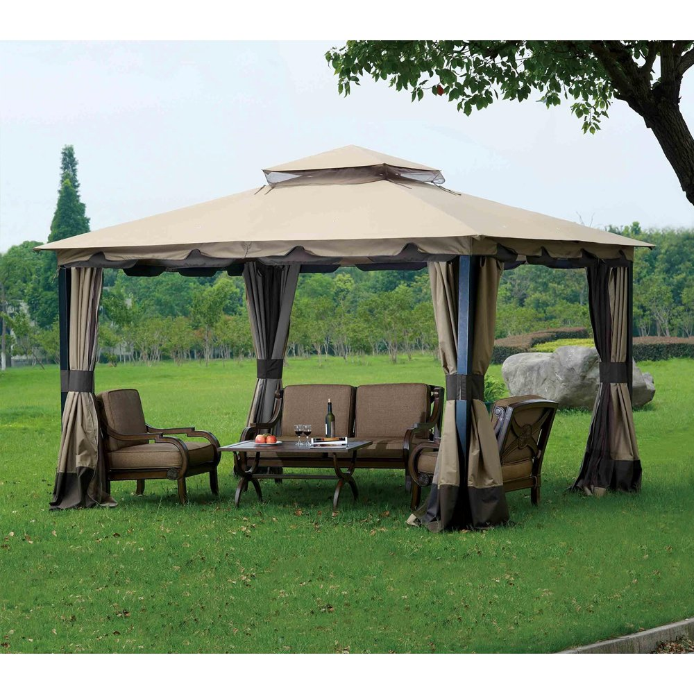 Sunjoy Replacement Canopy Set for 10x12ft Monterey Gazebo