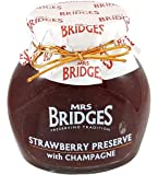 Mrs Bridges Strawberry Preserve with Champagne, 12-Ounce