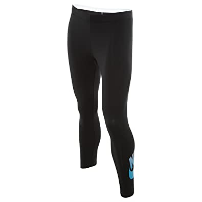 2cc9a43fdc5a0e Image Unavailable. Image not available for. Color: Nike Club Futura Cropped  Leggings ...