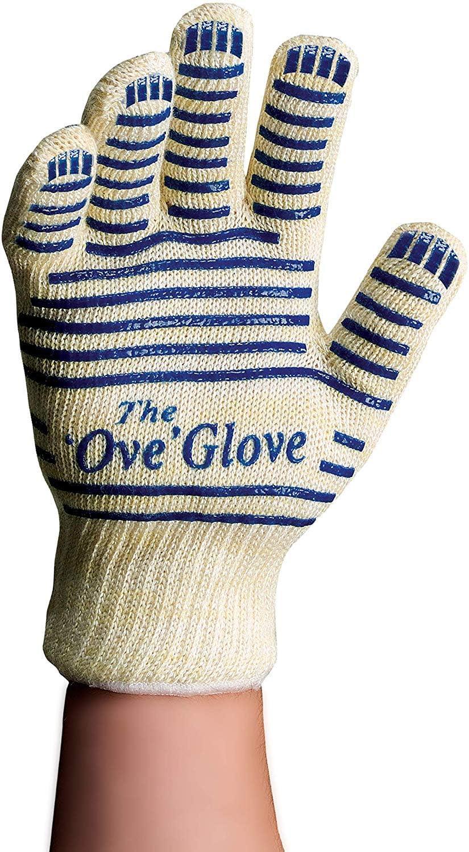 OVE  Glove BBQ Kitchen Heat Proof Mitt Resistant Hot Surface Handler Oven Gloves