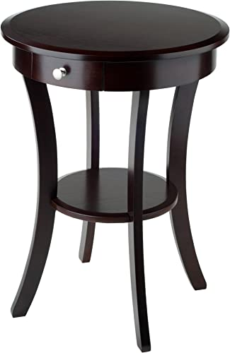 Winsome Wood Sasha Accent Table, Cappuccino