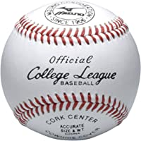 ミズノ(MIZUNO) カレッジリーグ 高校試合球 1BJBH10300 硬式 野球 ボール