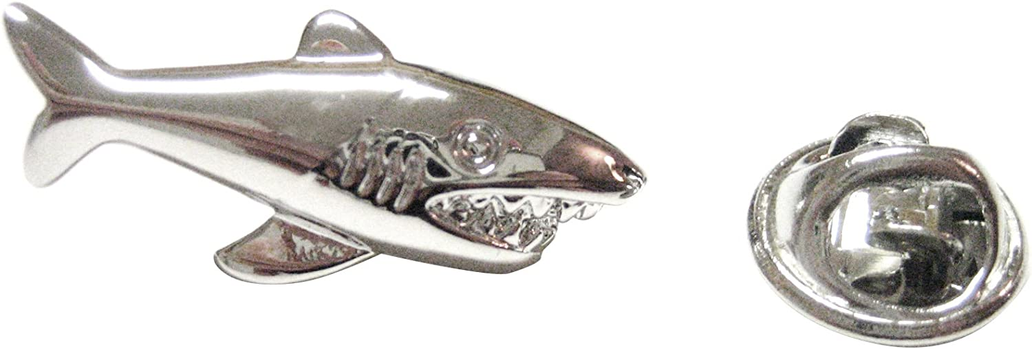 Shark Pendant Lapel Pin