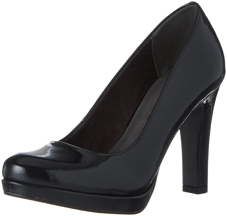Tamaris 22426, Zapatos de Tacón para Mujer 38 EU|Negro (Black Patent)