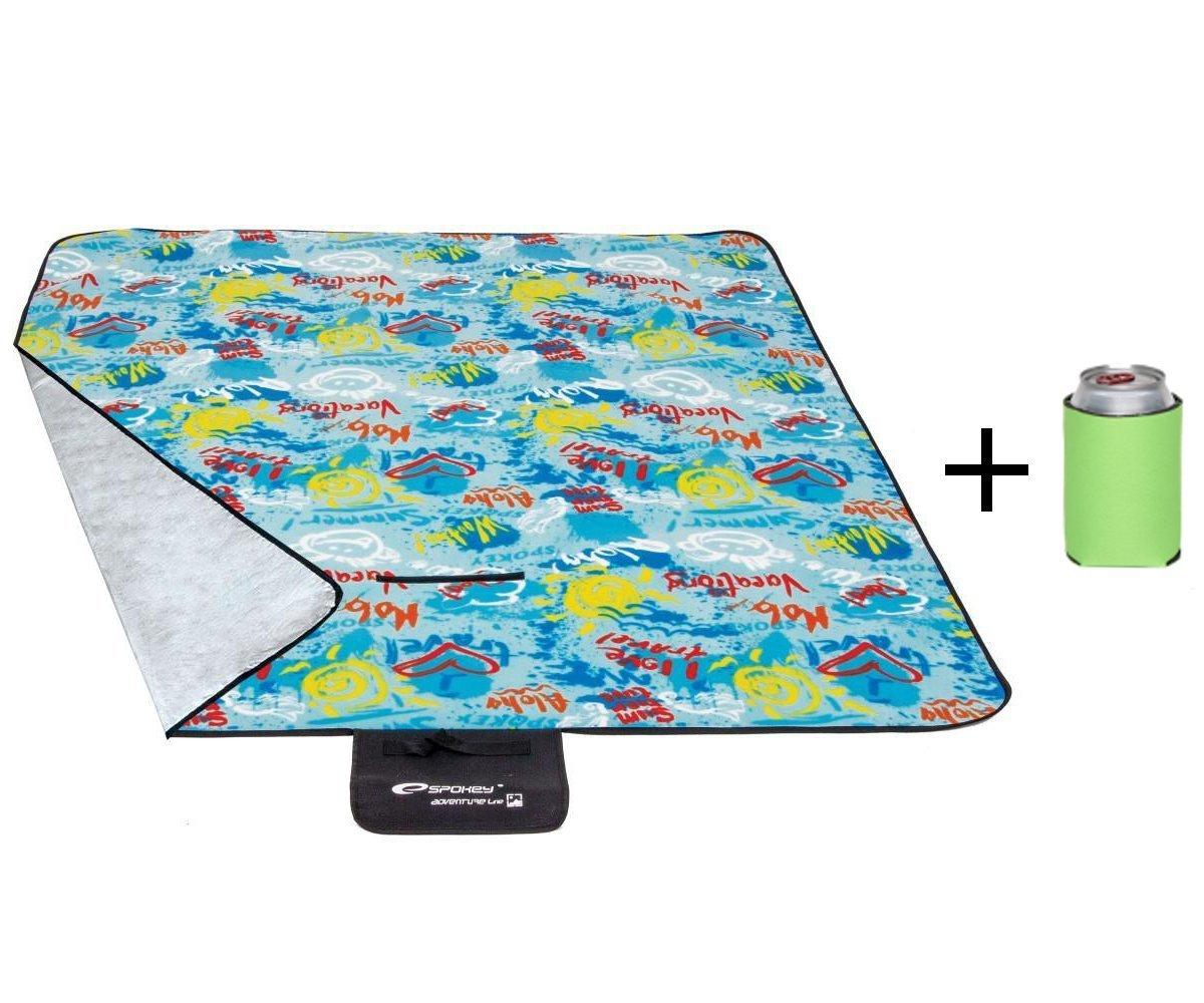 Spokey reg; - Juego de picnic (manta de picnic, toalla de playa, 22nuevos diseños y tamaños, plegable), Stripes 22nuevos diseños y tamaños
