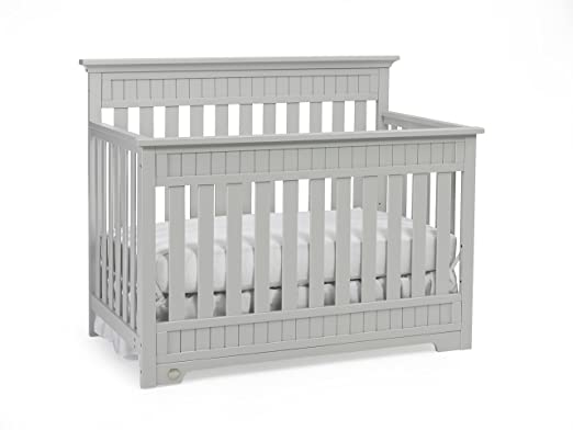 this beautiful crib boasts a 5in1 that allows it to be used as a crib toddler bed daybed and fullsized bed and can be used with