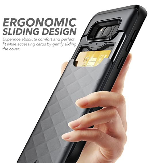 new arrival b117a 208f3 Amazon.com: Galaxy S8+ Plus Case, Clayco [Argos Series] Premium ...