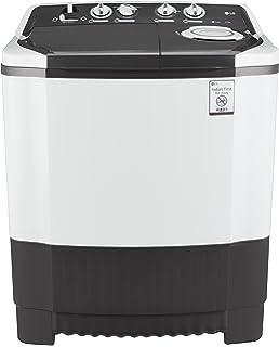 LG 6.5 kg Semi Automatic Top Loading Washing Machine  P7550R3FA, Dark Grey