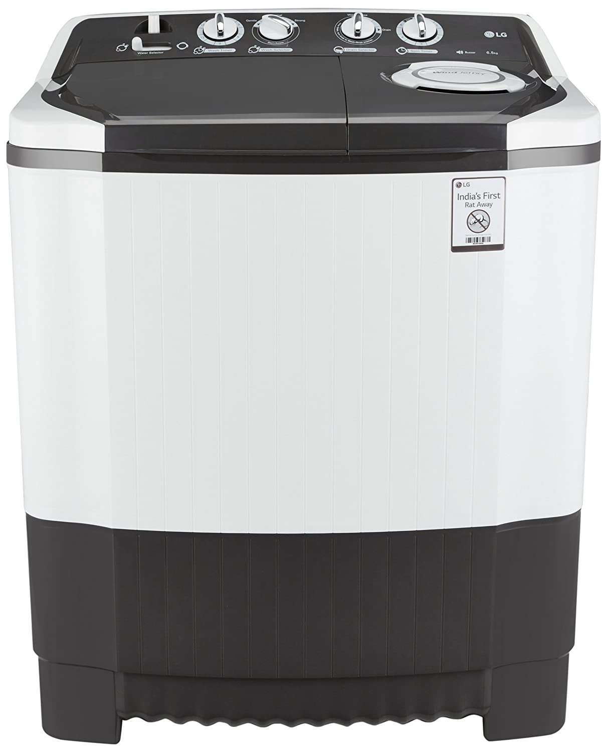 LG 6.5 kg Top Loading Semi Automatic Washing Machine