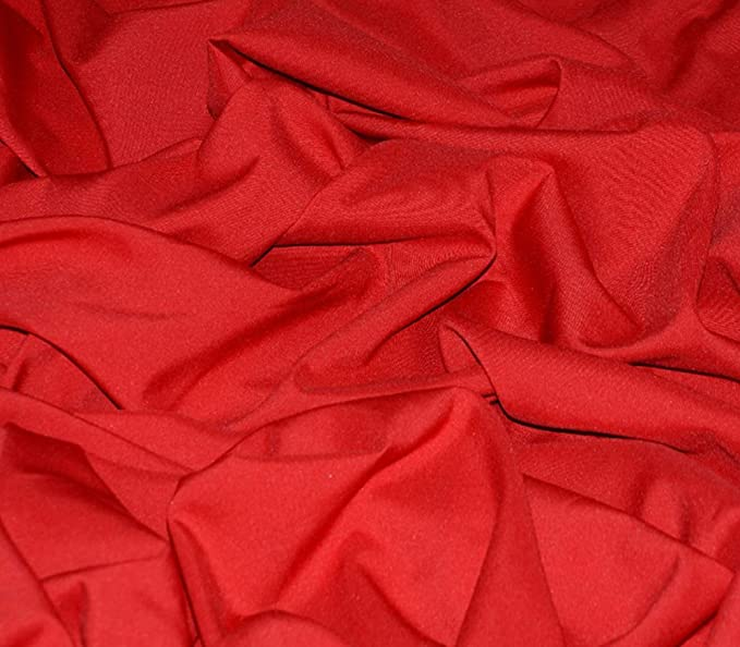 """Poly Poplin Solid Fabric ORANGE 120/"""" Wide Sold by the yard"""