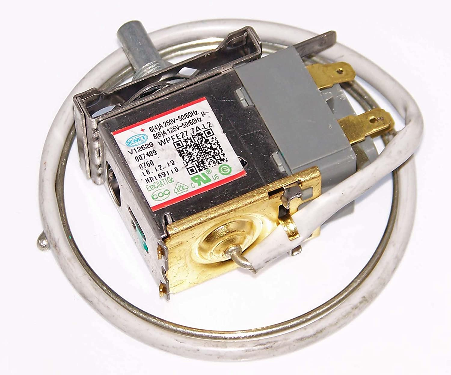 OEM Haier Freezer Thermostat Specifically For Haier HF50CM23NW, HF50CW20W, HF71CL53NW, HF71CM33NW, HF71CW20W, HFC3501ACW