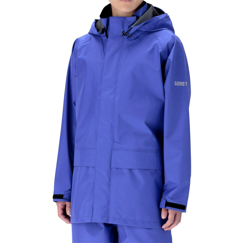 ミドリ安全 雨衣 レインベルデN(R) ゴアテックス(R) 標準仕様 上衣 ロイヤルブルー B01JHIQV2Q S