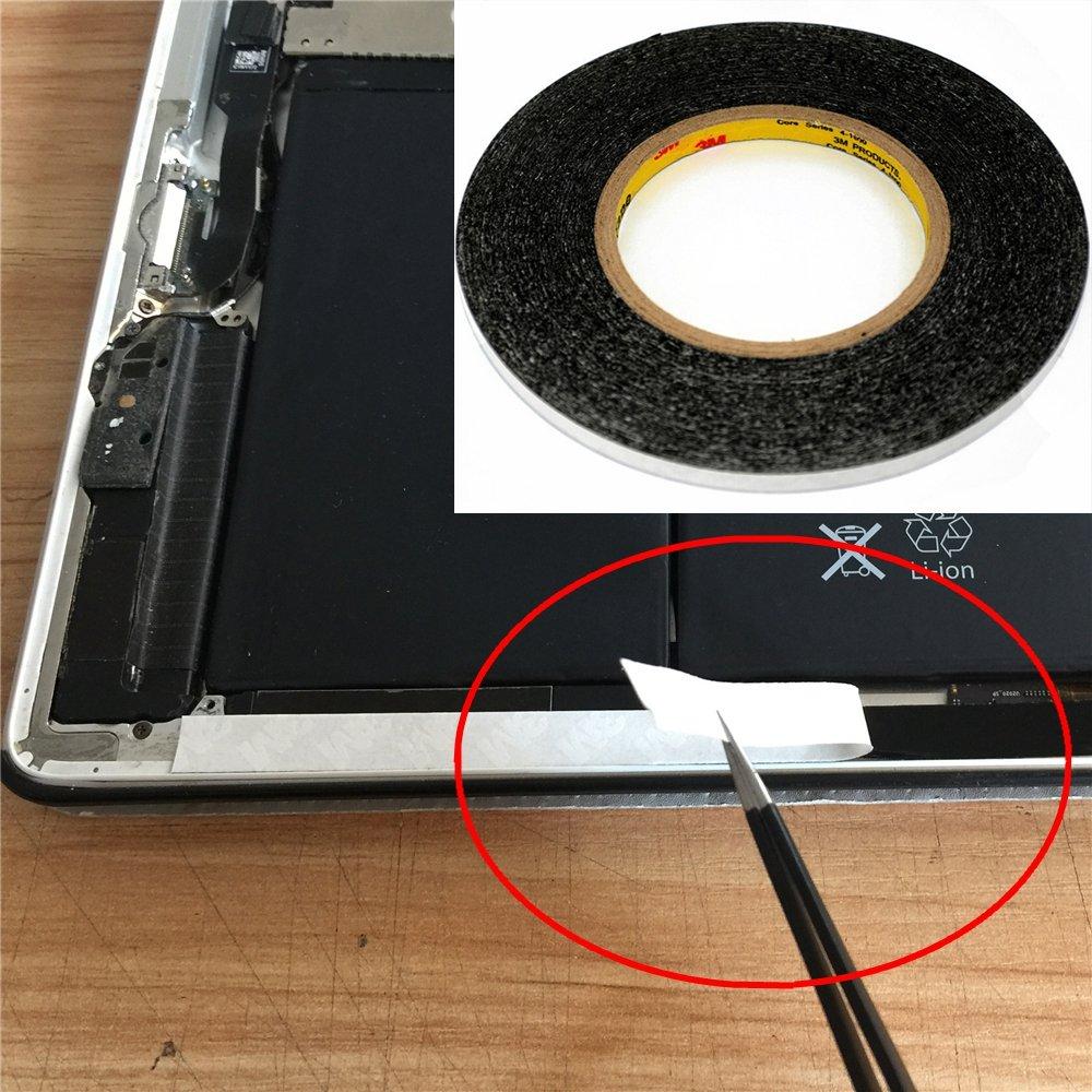 5/mm 50/metres 3/m 9448/Noir ruban adh/ésif double face Sticky pour t/él/éphone Panneau tactile LCD /écran /écran r/éparation//logo adh/ésif