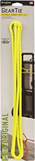 product image for Nite Ize Original Gear Tie, Reusable Rubber Twist Tie, 64-Inch, Neon Yellow, Made in the USA