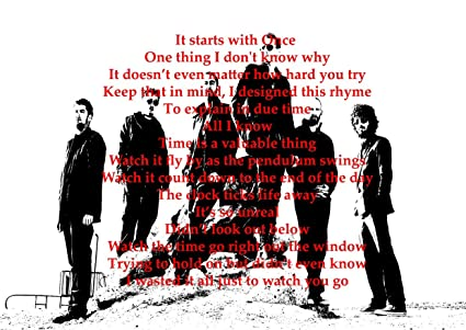Linkin Park - In The End - Lyrics - Gary Holt Paul Bostaph