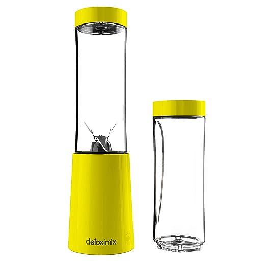 Detoximix Mini Batidora ultra compacta 150 W – 2 botellas de ...
