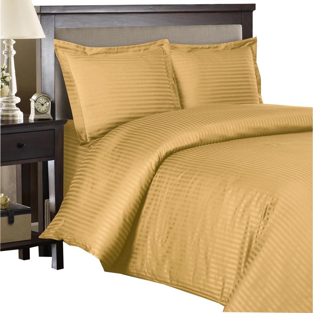 800 Thread Count Three (3) Piece King Size Black Stripe Duvet Cover Set, 100% Egyptian Cotton, Premium Hotel Quality Luxury Egyptian Bedding