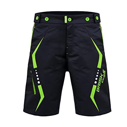 Brisk Bike MTB Shorts Model 4: Amazon.es: Deportes y aire libre