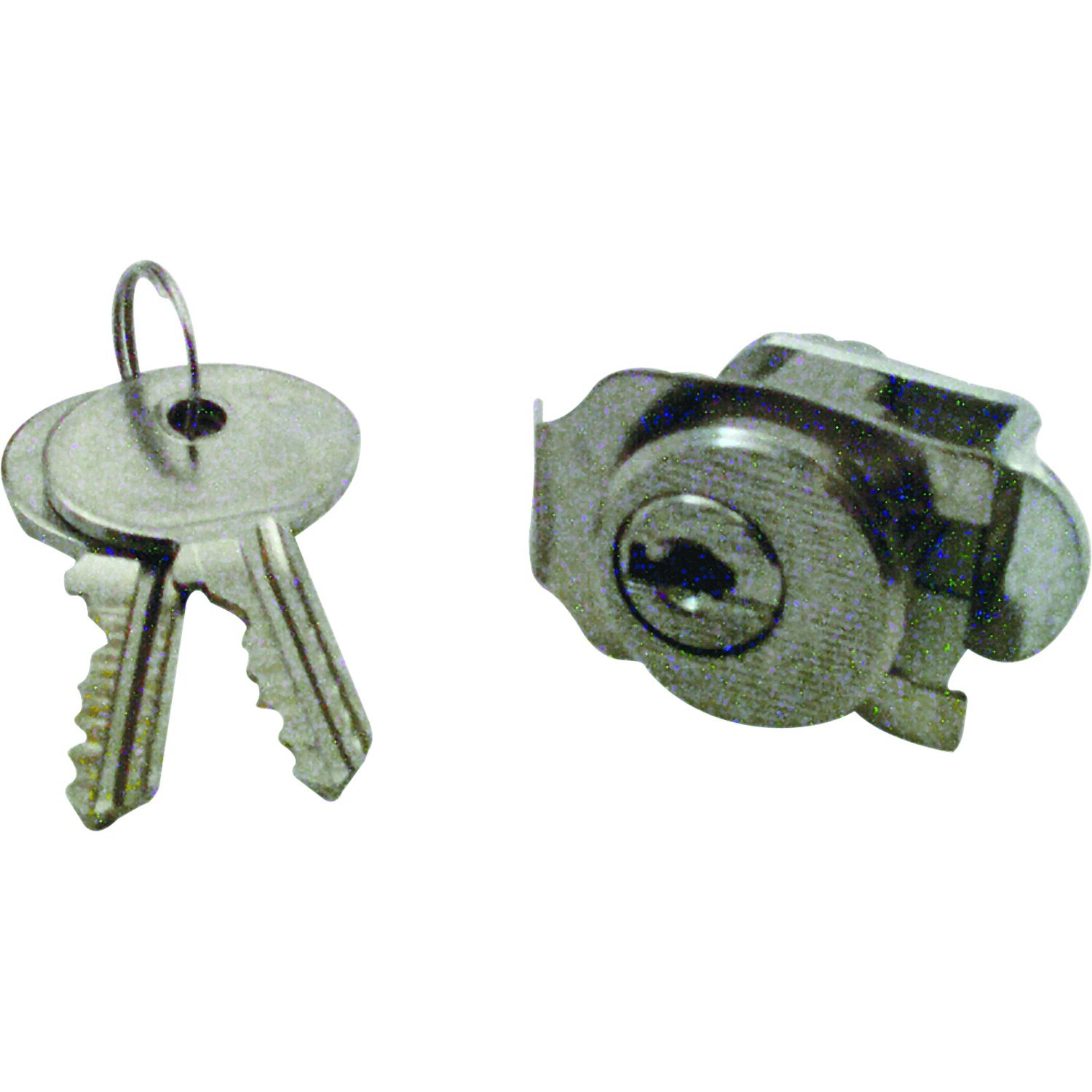 Pack of 1 Prime-Line Products Prime-Line MP4130 Mail Box Lock Nickel Plated