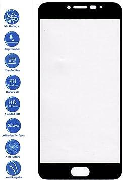 Todotumovil Protector de Pantalla Meizu M3 Note Negro Completo 3D Cristal Templado Vidrio Curvo para movil: Amazon.es: Electrónica