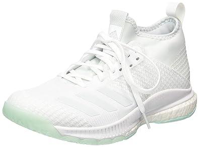 aa0c7dec2 adidas Women's Crazyflight X 2 Mid Volleyball Shoes, FTWR White/Blue Tint  S18/