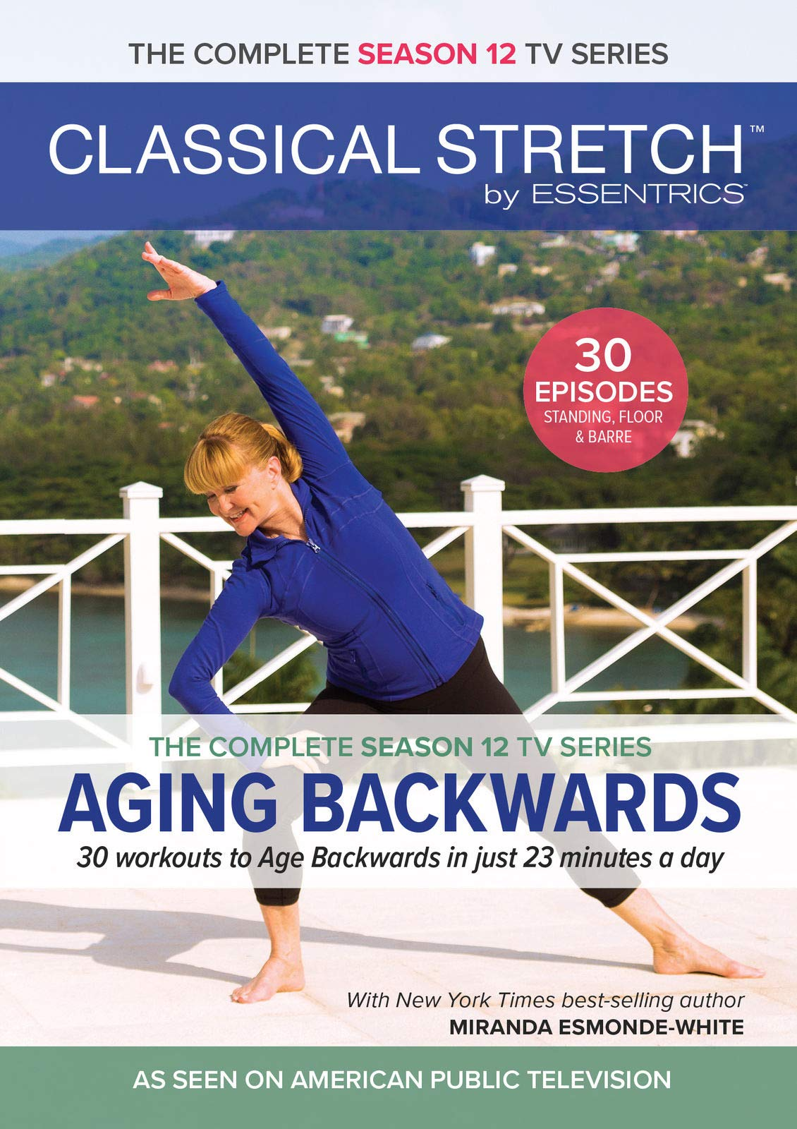 Classical Stretch Complete Season 12 Miranda Esmonde Technique 4-DVD Set
