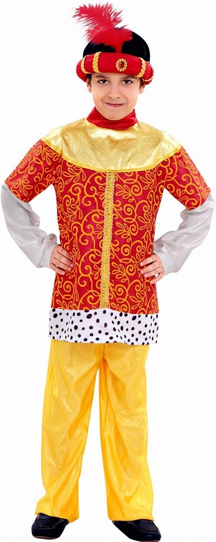 Disfraz de paje del Rey Baltasar - Talla - 10-12 años: Amazon.es ...